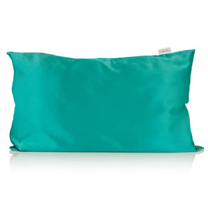 Jade Silk Pillowcase - Silk Pillowcases - Silk Eye Masks - Silk Scrunchies - Luxury Towels
