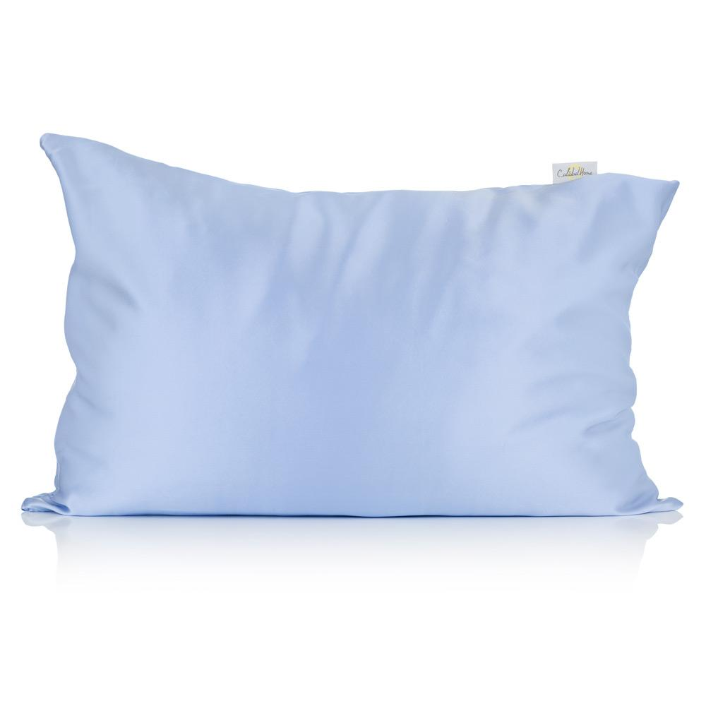 Light Blue Silk Pillowcase - Calidad Home