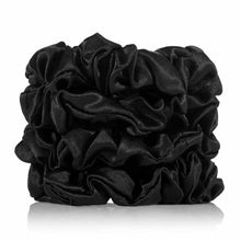 Load image into Gallery viewer, Silk Eye Mask & Scrunchies In A Gift Box - Silk Pillowcases - Silk Eye Masks - Silk Scrunchies - Luxury Towels