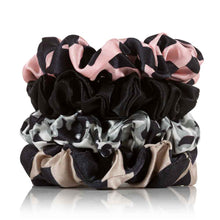 Load image into Gallery viewer, Silk Scrunchies 4 Regular Safari - Calidad Home
