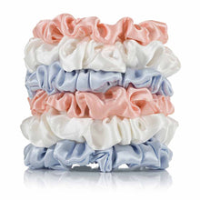 Load image into Gallery viewer, Silk Scrunchies (6 Skinny) - Calidad Home