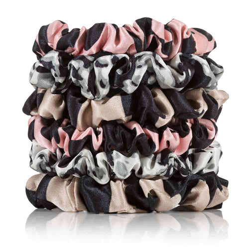 Silk Scrunchies 6 Skinny Safari - Calidad Home