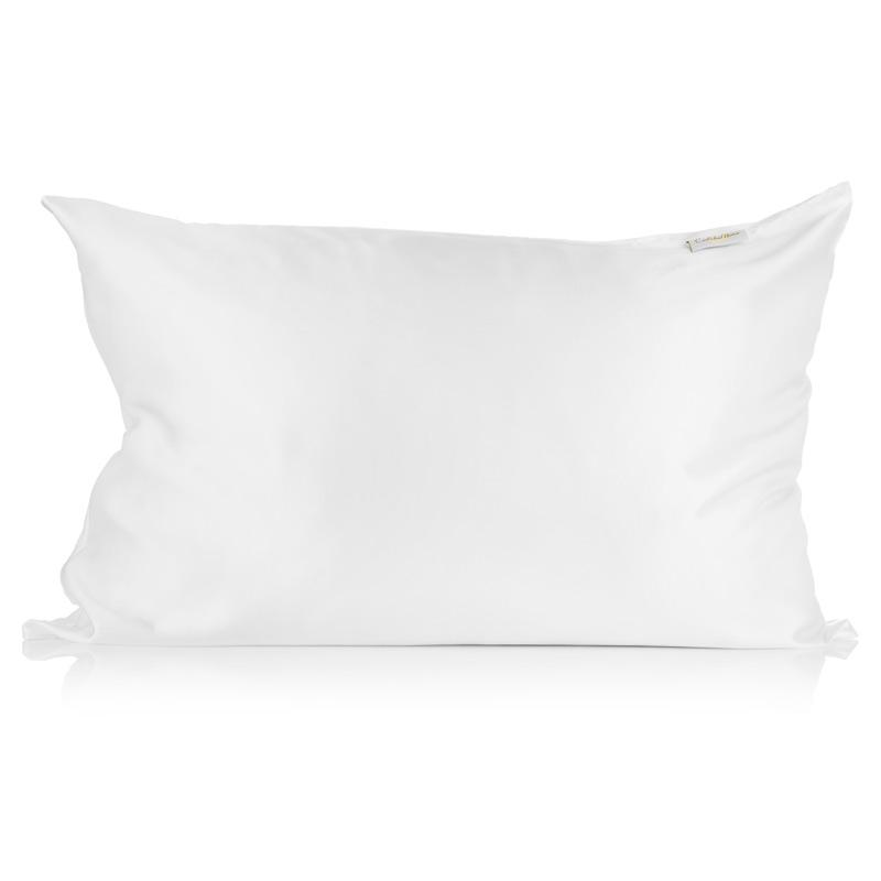 White Silk Pillowcase - Calidad Home
