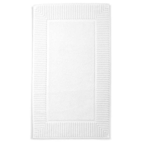 White Turkish Cotton Bath Mat - Calidad Home