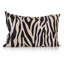Load image into Gallery viewer, Zebra Print Silk Pillowcase - Calidad Home
