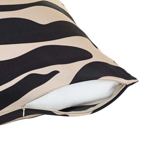 Zebra Print Silk Pillowcase - Calidad Home