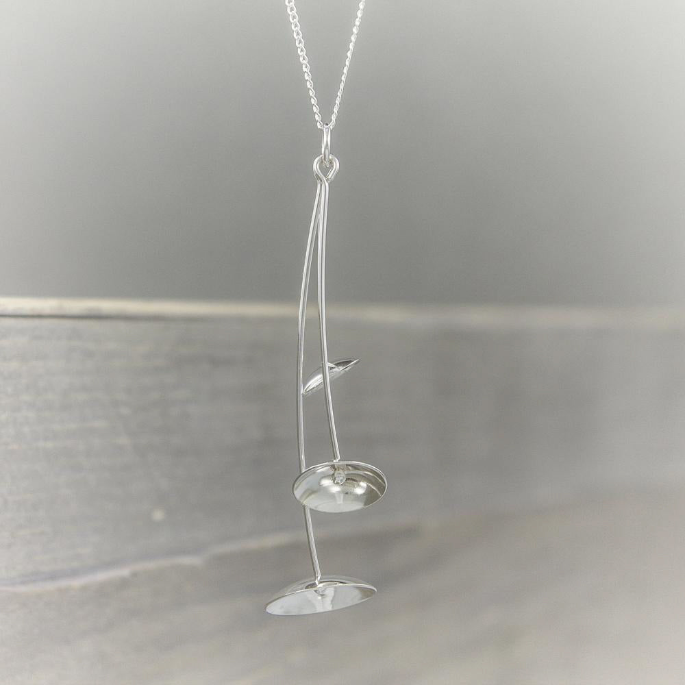 Sterling Domes Necklace