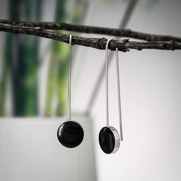 Black Pop Earrings
