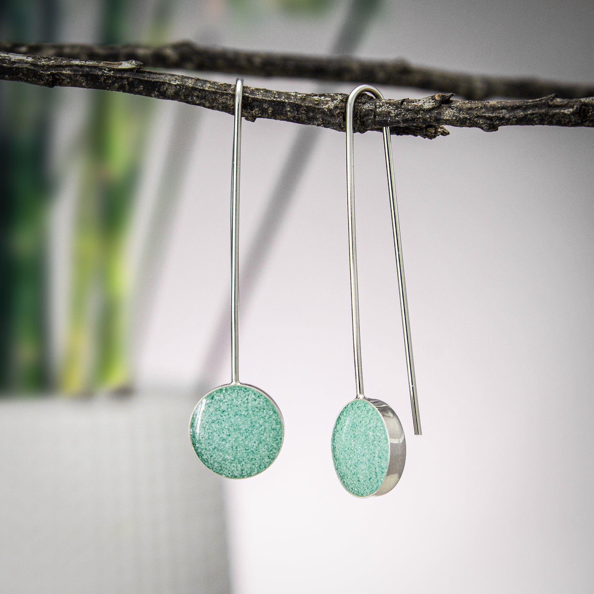 Powder Blue Pop Earrings