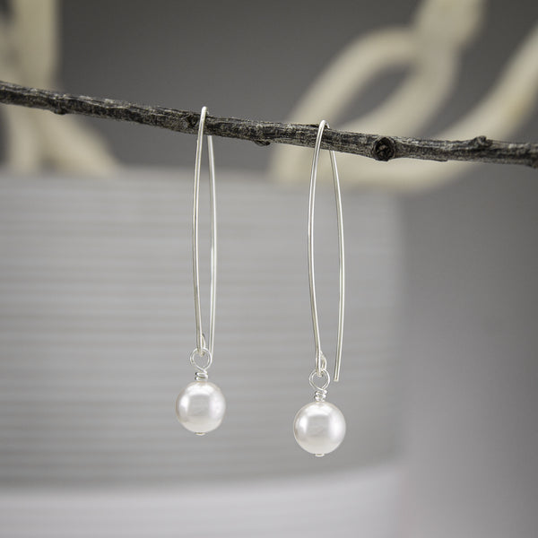Swarovski Pearl Earrings