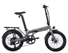"Load image into Gallery viewer, Eovolt Confort 20"" Folding Electric Bike - Grey"