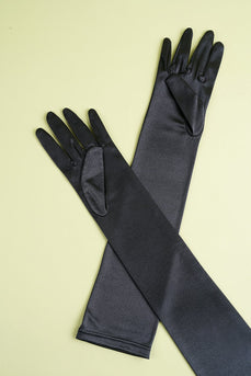 Guantes Party 1920 negro