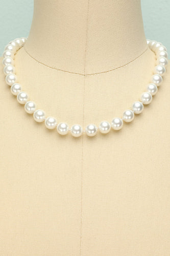 Shell Pearl Necklace - ZAPAKA
