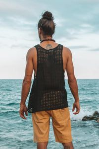 RAMA TANK TOP | BLACK - CHAKRUNASHOP