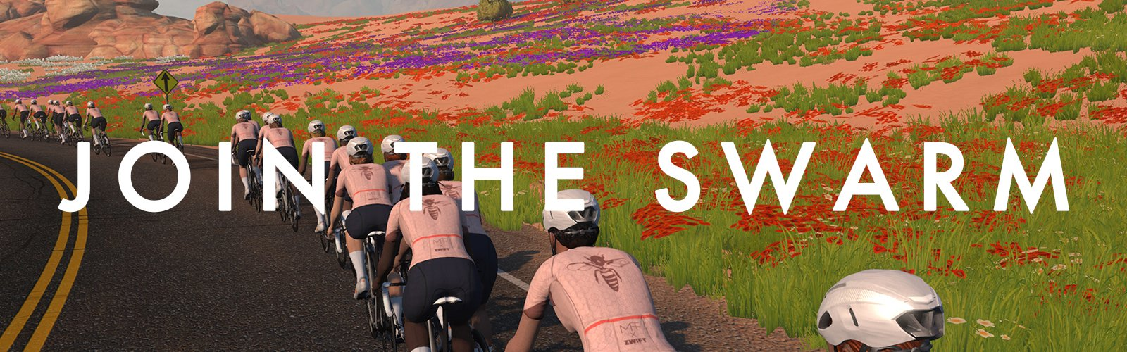 ZWIFT x MACHINES: Join the Swarm