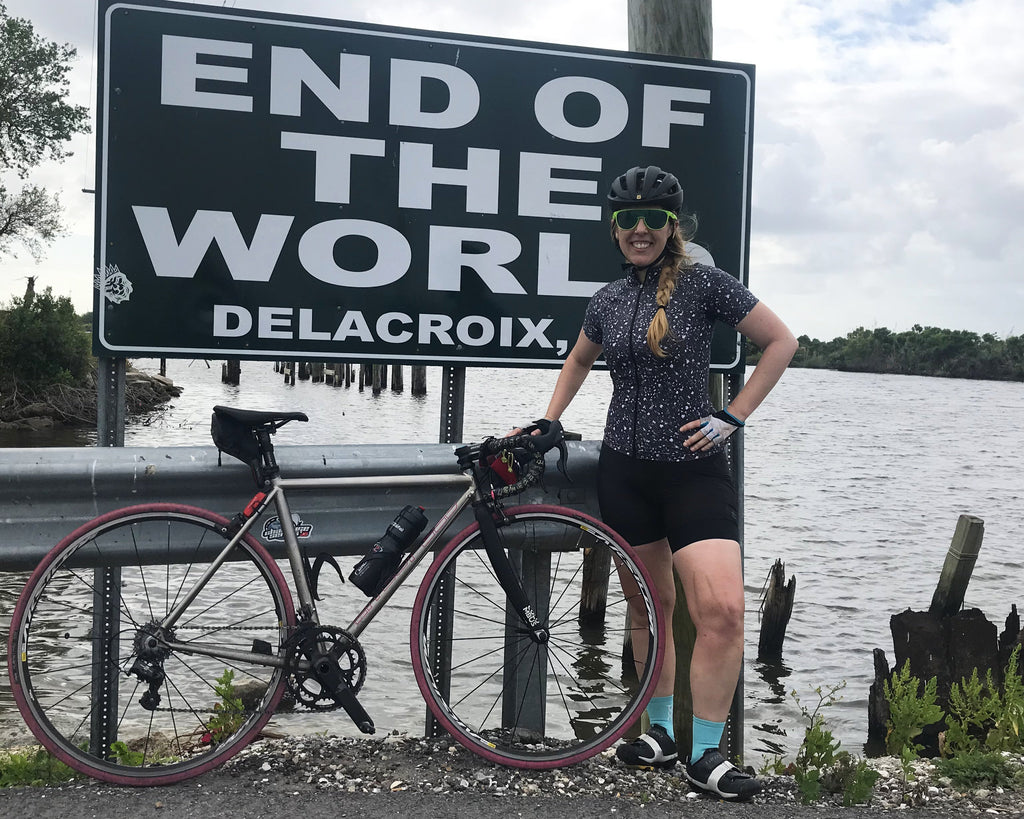 BIKING TO THE END OF THE WORLD