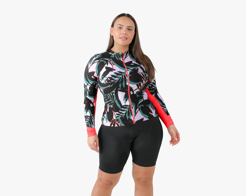 The Summerweight Long Sleeve in Palmera