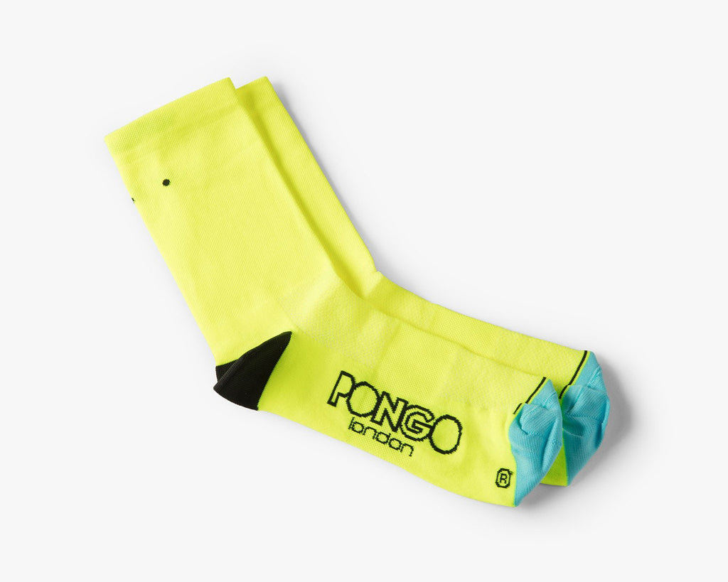 Pro Classic Socks by Pongo London // Fluoro