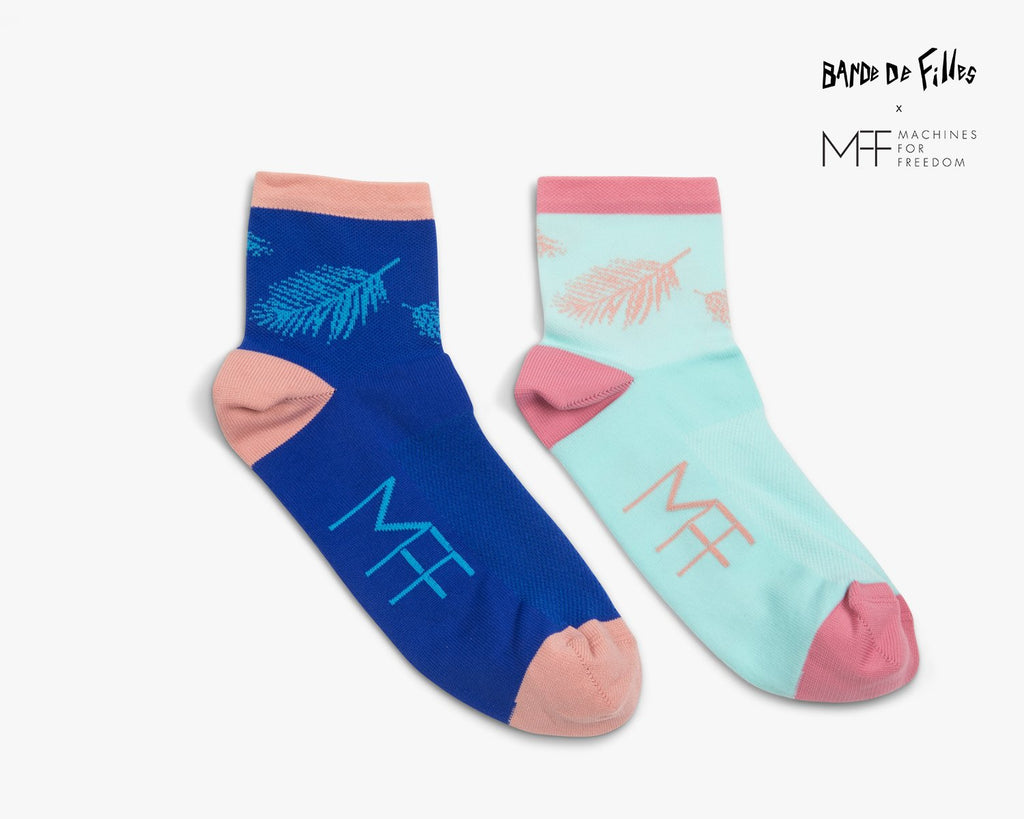 Palm Cycling Sock