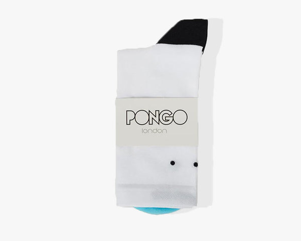 Pro Classic Socks by Pongo London // White