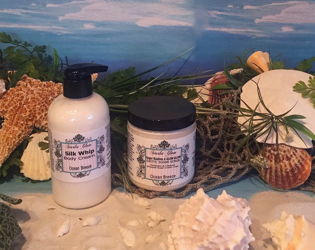 Ocean Breeze Sugar Scrub