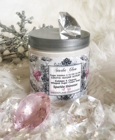 Snowflake Diamonds Sugar Scrub