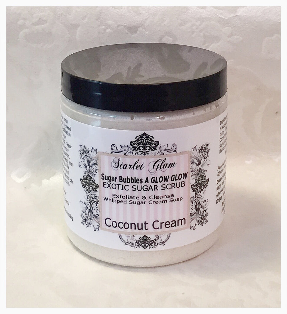Coconut Cream Sugar Scrub