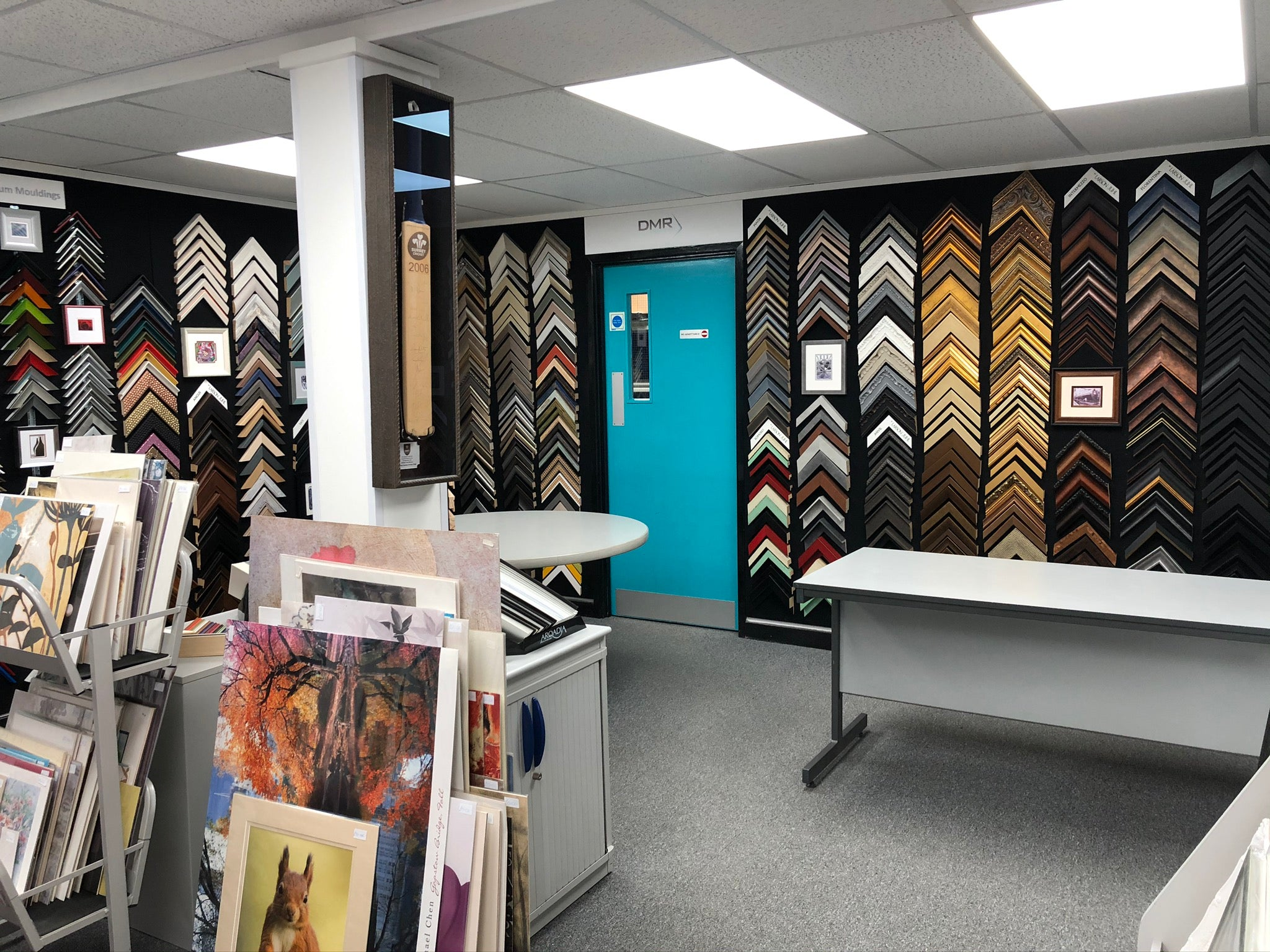 Picture Framing Showroom