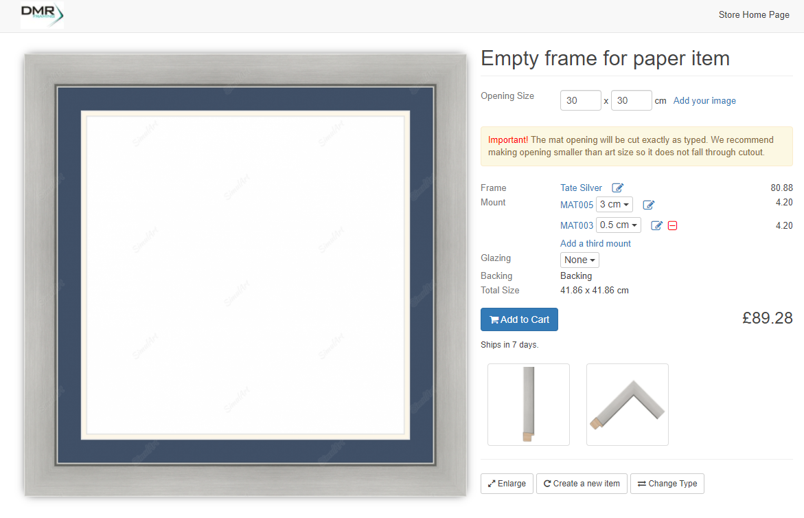 Picture Framing Online
