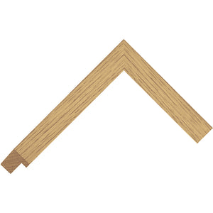 Real solid Oak flat box frame 23mm wide