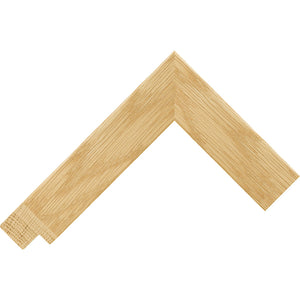 Oak square box style wooden frame (33mm wide)