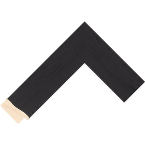 Black stain finish reverse profile frame 45mm wide