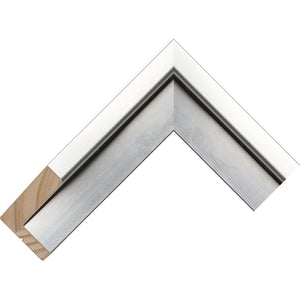 Silver canvas box frame 44.5mm wide