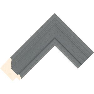 Traditional Dark Grey wooden picture frame