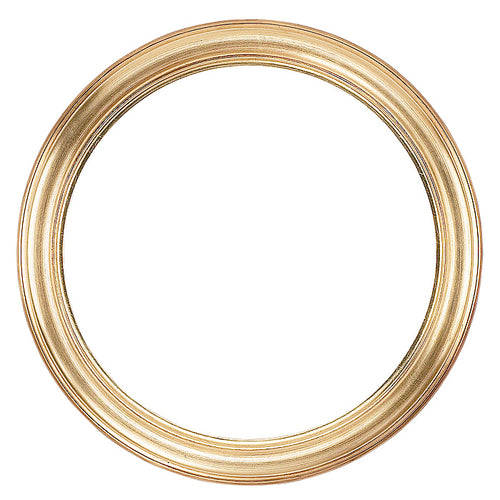 Gold Circle Picture Frame