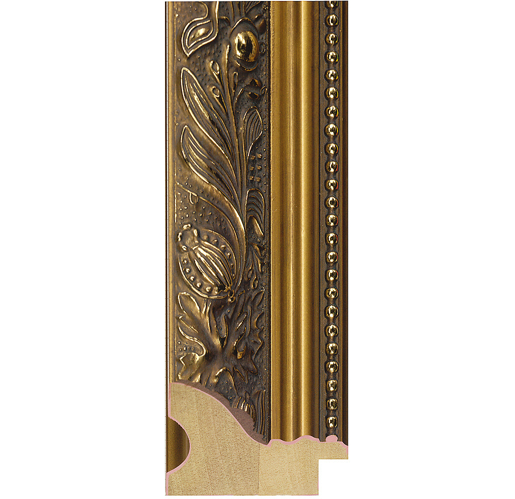 Gold ornate frame 59mm wide