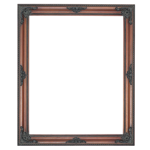 Walnut decorative wooden picture frame