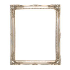 Silver Swept Picture Frame