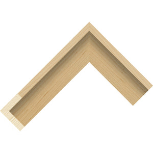 Maple wood veneer finish canvas box frame 40mm wide
