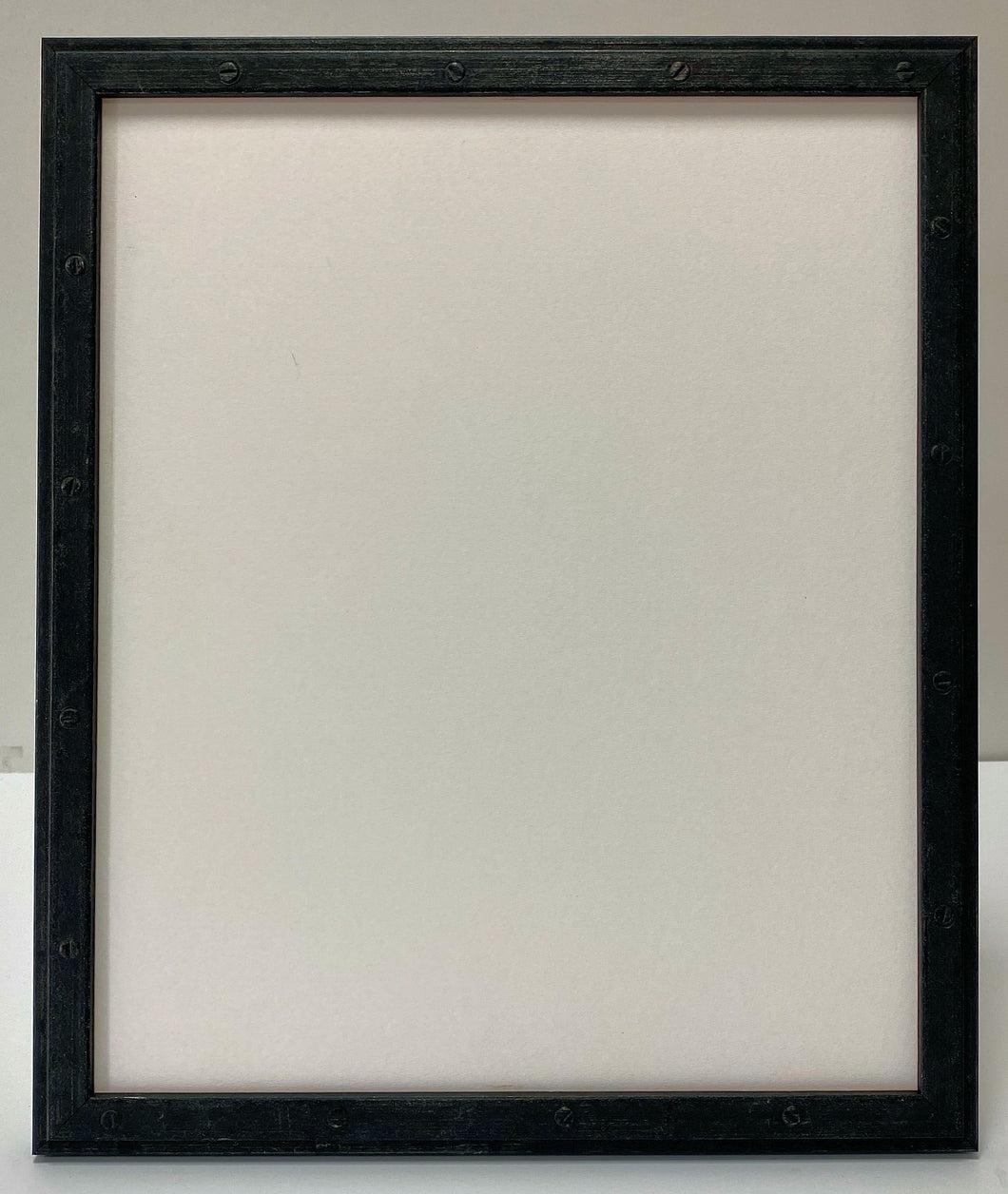 Oiled steel effect Wooden Picture Frame (18mm wide)