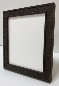 Rusted iron picture frame
