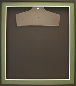 Readymade Shirt Frame. Black Box Frame.