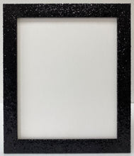 Load image into Gallery viewer, Black Glitter Picture Frame (32mm wide)