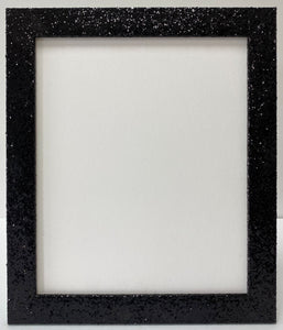 Black Glitter Picture Frame (32mm wide)