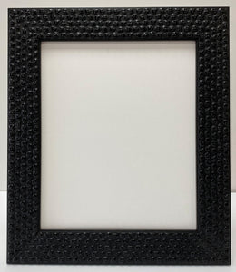 Black Skulls wooden picture frame. (52mm wide)