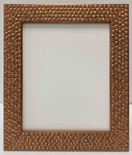 Load image into Gallery viewer, Coppper leaf effect Skulls wooden picture frame. (52mm wide)