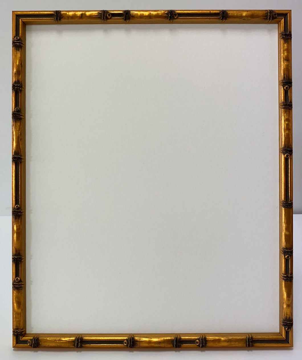 Gold Bamboo wooden picture frame
