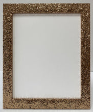 Load image into Gallery viewer, Gold Glitter Picture Frame (32mm wide)