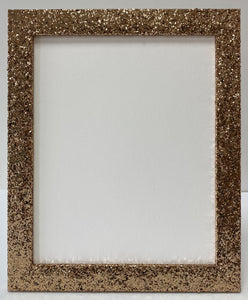 Gold Glitter Picture Frame (32mm wide)