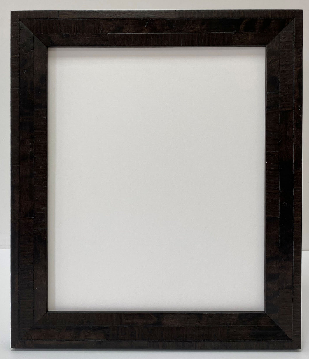 Coffee colour real veneer Wooden Picture Frame (39mm wide)